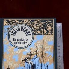Libros de segunda mano: JULIO VERNE UN CAPITAN DE QUINCE AÑOS EDICIONES RBA. Lote 296807448