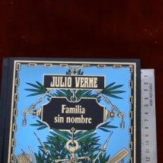 Libros de segunda mano: JULIO VERNE FAMILIA SIN NOMBRE EDICIONES RBA. Lote 296808923