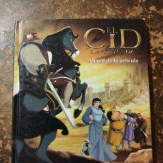 Libros de segunda mano: EL CID, LA LEYENDA, ÁLBUM DE LA PELÍCULA (FILMAX ANIMATION, ED. GAVIOTA). Lote 296909883