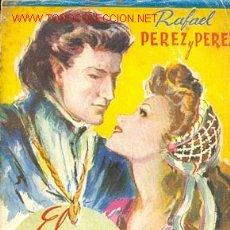 Libros de segunda mano: RAFAEL PEREZ Y PEREZ - EL IDILIO DE UNA REINA. Lote 23753545
