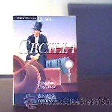 Libros de segunda mano: CECILIA;BENJAMIN CONSTANT;EL SOL 1991;¡NUEVO!. Lote 16806704
