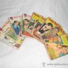 Libros de segunda mano: FANTÁSTICO LOTE DE 9 NOVELAS ROMÁNTICAS DE CORIN TELLADO. - COLECCION CORAL - AÑOS 60/70.. Lote 25031787