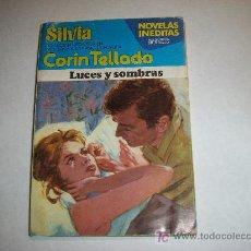Libros de segunda mano: NOVELA COLECCION SILVIA Nº 340, CORIN TELLADO - LUCES Y SOMBRAS - EDITORIAL BRUGUERA 1981. Lote 18653830