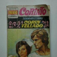 Libros de segunda mano: DESENGAÑO DE AMOR DE CORIN TELLADO-1975. Lote 18761763
