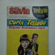 Libros de segunda mano: DEJAME DESCANSAR AQUI POR CORIN TELLADO-1975. Lote 18761843