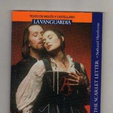 Libros de segunda mano: LA LETRA ESCARLATA POR NATHANIEL HAWTHORNE · 64 PÁGINAS EN INGLÉS Y CASTELLANO. Lote 19058897