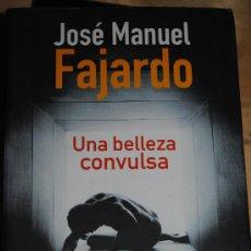Libros de segunda mano: UNA BELLEZA CONVULSA. JOSE MANUEL FAJARDO.. Lote 26014469