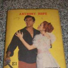 Libros de segunda mano: EL PRISIONERO DE ZENDA, POR ANTHONY HOPE - ZIG ZAG - CHILE - 1953 - C/FOTOS DE S. GRANGER Y D. KERR. Lote 20629419