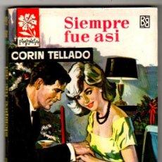 Libros de segunda mano: COLECCION PIMPINELA Nº 882, EDI. BRUGUERA 1963, 128 PGS.PORTADA VICENTE ROSO, POR CORIN TELLADO. Lote 22628221
