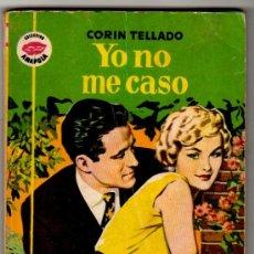 Libros de segunda mano: COLECCIÓN AMAPOLA 406, BRUGUERA 1959, CORIN TELLADO, PORTADA VICENTE ROSO, FOTO KAORU YACHIQUSA. Lote 22645381