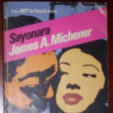 Libros de segunda mano: SAYONARA POR JAMES A. MICHENER DE ED. PLAZA JANÉS EN BARCELONA 1982. Lote 23570721