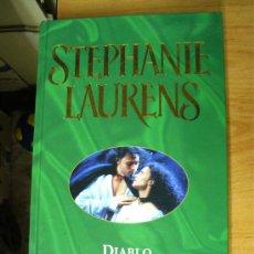 Libros de segunda mano: DIABLO - STEPHANIE LAURENS / EDICIONES B. Lote 23574510