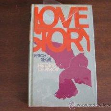 Libros de segunda mano: LOVE STORY - ERICH SEGAL - CIRCULO DE LECTORES. Lote 27433846
