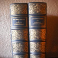 Libros de segunda mano: OBRAS COMPLETAS DE RICARDO LEON(2 VOLS.) EDICION 1944. Lote 26501134