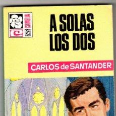 Libros de segunda mano: CAMELIA Nº 798 - EDI. BRUGUERA - OCTUBRE 1969 - POR CARLOS DE SANTANDER , PORTADA ANGEL BADIA. Lote 26222906