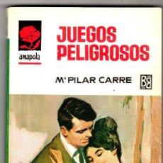 Libros de segunda mano: AMAPOLA Nº 794 - EDI. BRUGUERA - ABRIL 1967 - POR Mº DEL PILAR CARRE - PORTADA DESILO. Lote 26223437