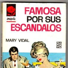 Libros de segunda mano: AMAPOLA Nº 778 - EDI. BRUGUERA - ENERO 1967 - POR MARY VIDAL - PORTADA ANTONIO BOSCH. Lote 26223616