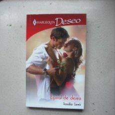 Libros de segunda mano: HARLEQUIN DESEO - ESPIRAL DE DESEO POR JENNIFER LEWIS. Lote 26664361