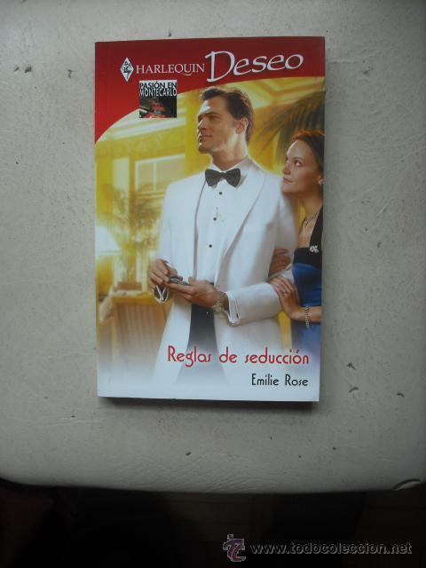 HARLEQUIN DESEO - REGLAS DE SEDUCCIÓN POR EMILIE ROSE (Libros de Segunda Mano (posteriores a 1936) - Literatura - Narrativa - Novela Romántica)