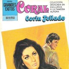 Libros de segunda mano: 1 NOVELA BRUGUERA AÑO 1981 - CORAL - CORIN TELLADO - Nº 735 - BERTA. Lote 26691038