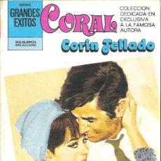 Libros de segunda mano: 1 NOVELA BRUGUERA AÑO 1981 - CORAL - CORIN TELLADO - Nº 732 - CREE EN MI. Lote 26691083