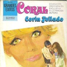 Libros de segunda mano: 1 NOVELA BRUGUERA AÑO 1981 - CORAL - CORIN TELLADO - Nº 719 - ELLA Y SUS RECUERDOS. Lote 26710048