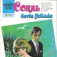 Libros de segunda mano: 1 NOVELA BRUGUERA AÑO 1981 - CORAL - CORIN TELLADO - Nº 724 - UN HOMBRE EXTRAÑO. Lote 26712008