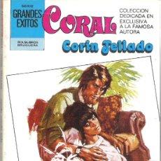 Libros de segunda mano: 1 NOVELA BRUGUERA AÑO 1981 - CORAL - CORIN TELLADO - Nº 728 - AQUELLA EXTRAÑA BODA. Lote 26712035