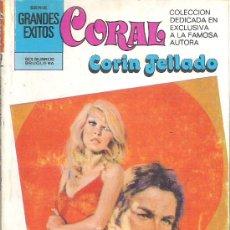 Libros de segunda mano: 1 NOVELA BRUGUERA AÑO 1980 - CORAL - CORIN TELLADO - Nº 757 - NO SEAS ORGULLOSO. Lote 26712119