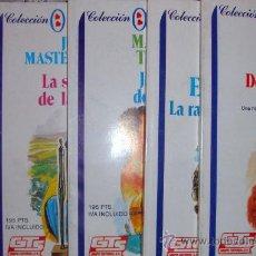 Libros de segunda mano: 5 NOVELAS DE AMOR COLEC. AZUL ROMÁNTICO GTS 1987 NUEVAS. Lote 26986949