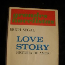 Libros de segunda mano: LOVE STORY. ERICH SEGAL. EMECE . 1971 191 PAG. Lote 27022383