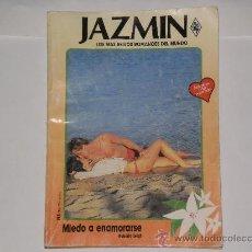 Libros de segunda mano: NOVELA ROMANTICA JAZMIN MIEDO A ENAMORARSE , ROBERTA LEIGH . NUMERO 579 . AÑO 1988 .. Lote 27434566
