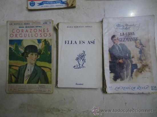 Libros de segunda mano: Novela rosa de Editorial Molino, colección Violeta. Novela Rosa y Ed Juventud. Dif. años - Foto 2 - 29604237