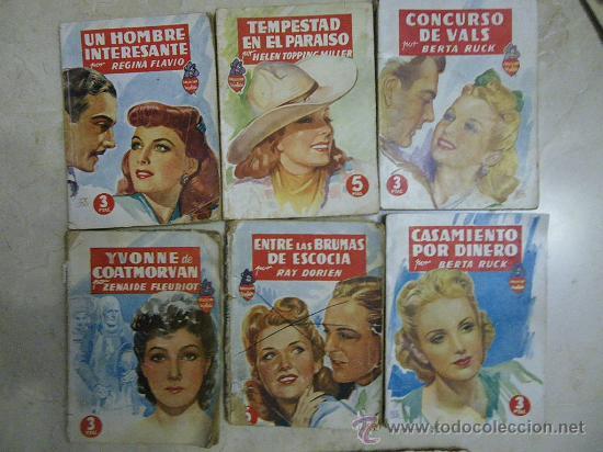 Libros de segunda mano: Novela rosa de Editorial Molino, colección Violeta. Novela Rosa y Ed Juventud. Dif. años - Foto 3 - 29604237