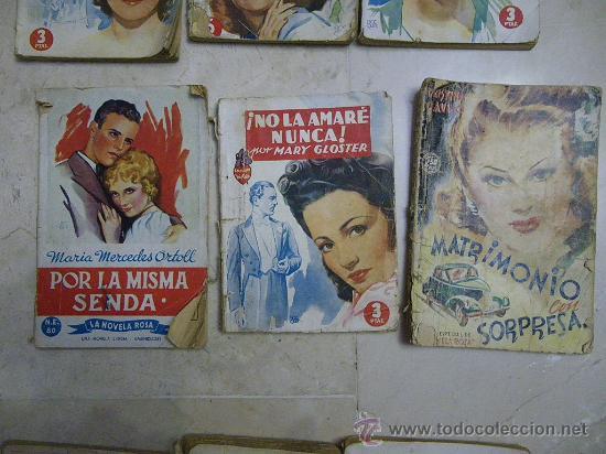 Libros de segunda mano: Novela rosa de Editorial Molino, colección Violeta. Novela Rosa y Ed Juventud. Dif. años - Foto 4 - 29604237