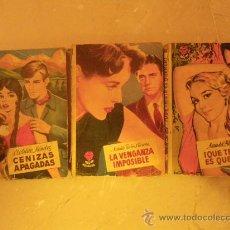 Libros de segunda mano: BRUGUERA. COL. ROSAURA.( 27?, 488 Y 574).. Lote 29657013