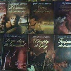 Libros de segunda mano: LOTE 13 TÍTULOS NOVELA ROMÁNTICA: RBA COLECCIONABLES. TAMAÑOS CUARTA MAYOR.TAPA DURA ILUSTRADA COLOR. Lote 29753703