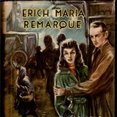 Libros de segunda mano: MATEU,COLECCION LA HOJA PERENNE -TRES HOMBRES Y UNA MUJER POR ERICH MARÍA R,AÑOS 40-50, VER IMAGENES. Lote 29957196