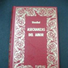 Libros de segunda mano: ASECHANZAS DEL AMOR STENDHAL TDK91. Lote 31268726