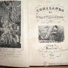 Libros de segunda mano: CORISANDA DE BEAUVILLIERS, TOMO 2. BARCELONA 1842. CON GRABADOS AL INICIO, 234 PAGINAS. Lote 31336037