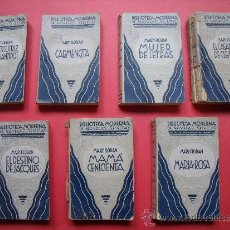 Libros de segunda mano: LOTE 7 NOVELAS MARY FLORAN.-BIBLIOTECA MODERNA NOVELAS SELECTAS.. Lote 32220038