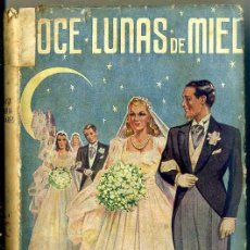 Libros de segunda mano: LUISA Mª LINARES : DOCE LUNAS DE MIEL (JUVENTUD. 1941) . Lote 32671236