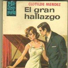 Libros de segunda mano: MADREPERLA Nº 897 EDI. BRUGUERA 1966 - CLOTILDE MENDEZ - PORTADA EMILIO FREIXAS. Lote 34270006