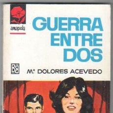 Libros de segunda mano: AMAPOLA Nº 806 EDI. BRUGUERA 1967 - Mª DOLORES ACEVEDO - PORTADA DESILO. Lote 34315937