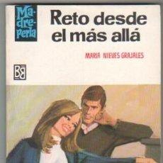 Libros de segunda mano: MADREPERLA Nº 989 EDI. BRUGUERA 1967 - MARIA DE LAS NIEVES GRAJALES - DESILO PORTADA. Lote 34512921