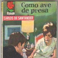 Libros de segunda mano: ROSAURA Nº 841 EDI. BRUGUERA 1966 - CARLOS DE SANTANDER - PORTADA ANGEL BADIA. Lote 34542648