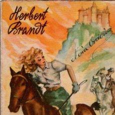 Libros de segunda mano: LAS DOS SUSANAS, HERBERT BRANDT,COLECCIÓN PARA TÍ, Nº 17, HYMSA, BARCELONA 1942. Lote 34798169