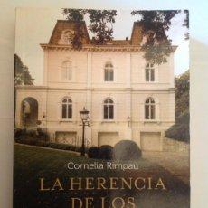 Libros de segunda mano: LA HERENCIA DE LOS SAALBERG - CORNELIA RIMPAU . Lote 35945002