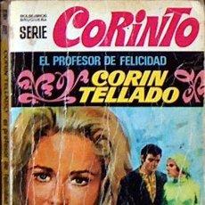 Libros de segunda mano: EL PROFESOR DE FELICIDAD, CORIN TELLADO, BRUGUERA COLECCION CORINTO Nº 249 1971 JGD1. Lote 36279098