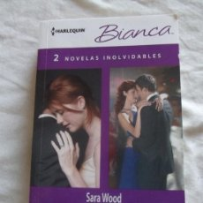 Libros de segunda mano: NOVELA ROMÁNTICA - HARLEQUIN BIANCA - 2 NOVELAS INOLVIDABLES. Lote 37309834